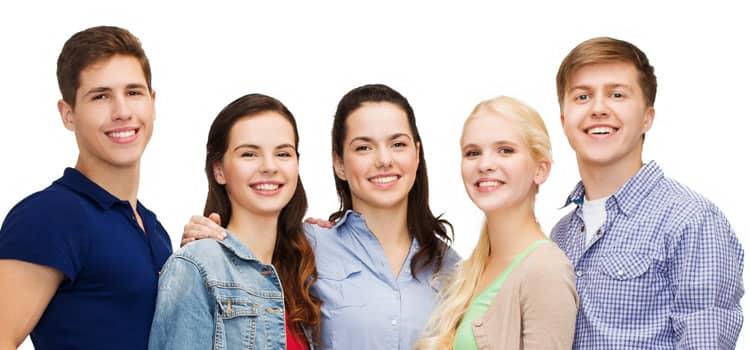 junge Menschen / Gruppe